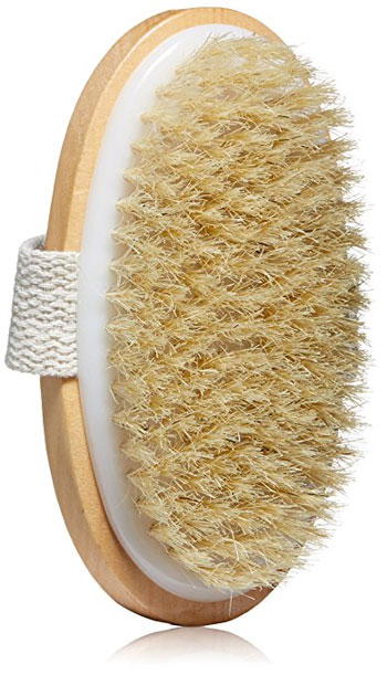 Best Natural Bristle Dry Body Brush