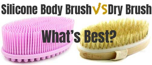 Silicone Body Brush Vs A Dry Brush What S Best
